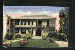 AK Bermuda, St. Agnes Convent and Centuryplants in bloom
