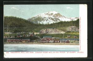 AK Douglas, AK, Treadwell mill and mine, largest stamp mill in the world, 240 stamps