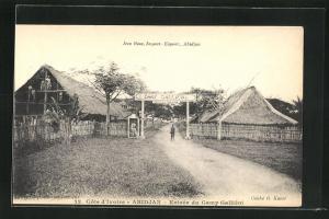 AK Abidjan, Entrée du Camp Galliént