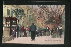 AK Malta, St. John`s Square