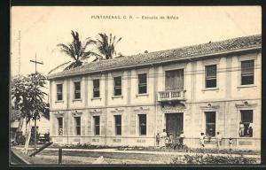 AK Puntarenas, Escuela de Ninos, Ansicht der Schule