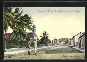 AK Cúcuta, Strassenpartie im Ortskern