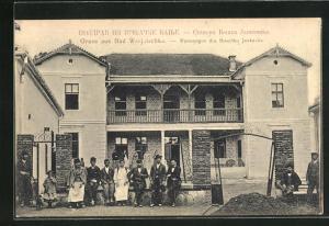 AK Bad Wrnjatschka, Wohnungen des Boschko Jankovits