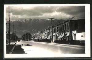 AK Teheran, Ferdossi Avenue, Strassenpartie im Zentrum