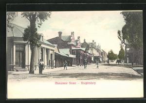 AK Krugersdorp, Monument Street, Strassenpartie