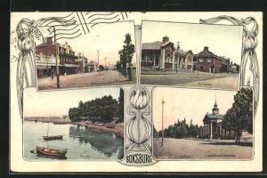 AK Boksburg, Commissioner Street, Post Office, Government Buildings, Lake
