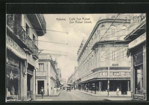 AK Habana / Havana, San Rafael Street, Ortspartie