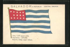AK Salvador, Landesfahne und wichtige Daten