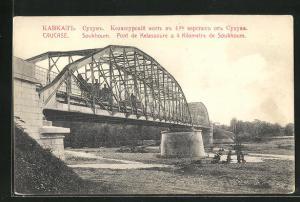 AK Soukhoum, Pont de Kelassoure, Brücke