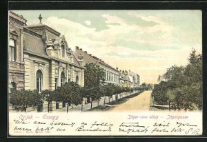 AK Osijek / Essegg, Blick in die Jägergasse