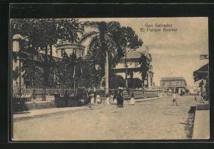 AK San Salvador, El Parque Bolivar, Ortspartie