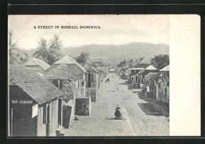 AK Roseau / Dominica, Street Scene