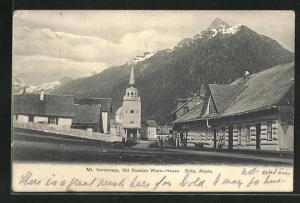 AK Sitka, AK, Mt. Verstovaya, Old Russian Ware-House