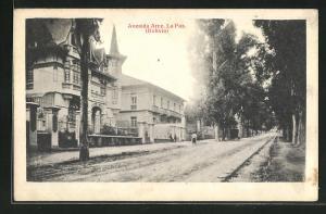 AK La Paz, Avenida Arce