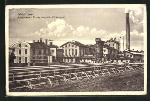 AK Novi Vrbas, Blick zur Zuckerfabrik