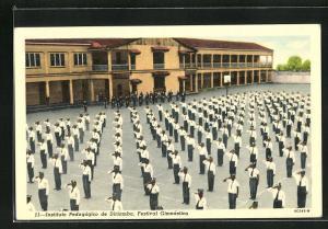 AK Diriamba, Instituto Pedagogico, Festival Gimnástico