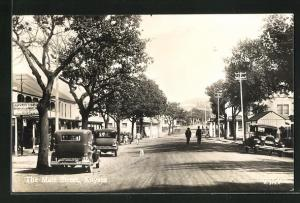 AK Knysna, View of the Main Street
