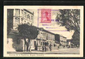 AK Bogota, Avenida de la Republica