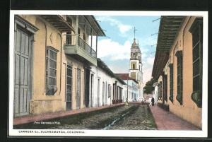 AK Bucaramanga, Carrera 6 A, Strassenpartie