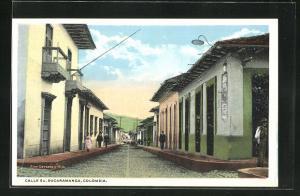 AK Bucaramanga, Calle 5 A, Strassenpartie