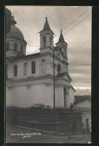 AK Quito, Kirche Santa Barbara