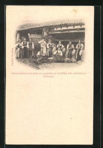 AK Vianna do Castello, Uma spaldaleta de linho no concelho de Vianna do Castello