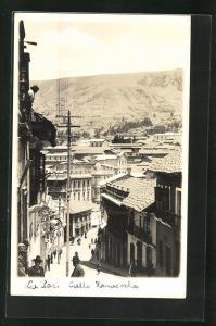 AK La Paz, Calle Lanacocha