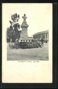 AK La Paz, Monumento à Sucre