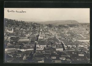 Foto-AK Quito, Ortsansicht