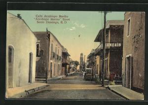 AK Santo Domingo / R. D., Calle Arzobispo Merino