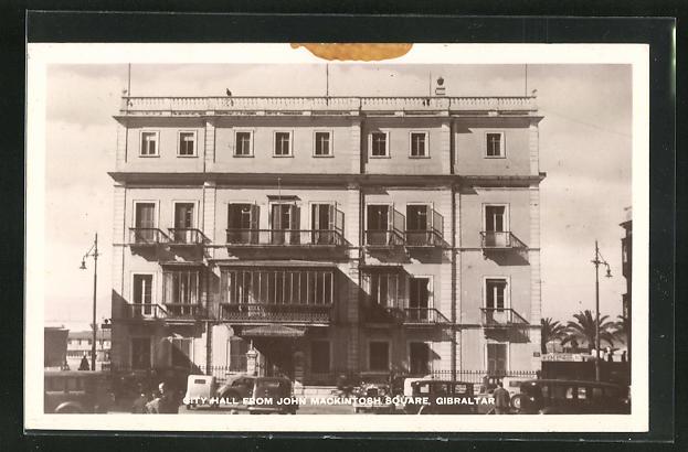 AK Gibraltar, City Hall from John Mackintosh Square 0