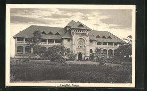 AK Tanga, Ansicht vom Hospital