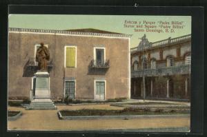 AK Santo Domingo, Estatua y Parque Padre Billini