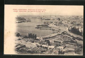AK Sebastopol / Krim, Teilansicht der Stadt