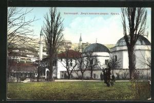 AK Bakhtchi-Sarai / Krim, La cour du palais du khan