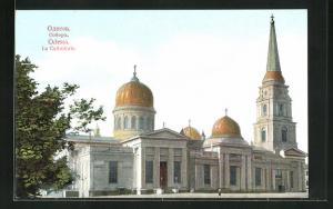 AK Odessa, La Cathédrale, Ansicht der Kathedrale