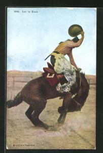 AK Let `er Buck, Rodeo, Cowboy