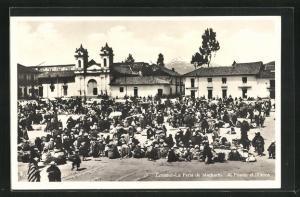 AK Machachi, La Feria, Al Fondo el Illiniza