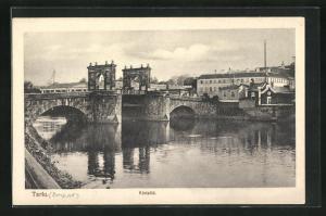 AK Tartu, Kivislid, an der Brücke