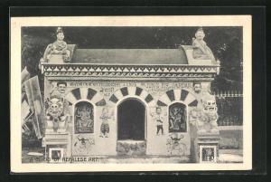 AK Nepal, A Curio of Nepalese Art, Schrein