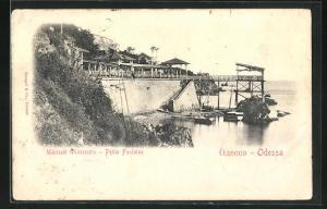 AK Odessa / Krim, Petite Fontaine, Am Meer