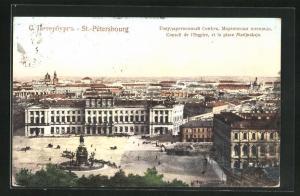 AK St. Pétersbourg, Conseil de l`empire et la place Marijnskaja