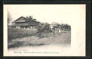 AK Cotonou, Palais du Gouverneur et Hopital