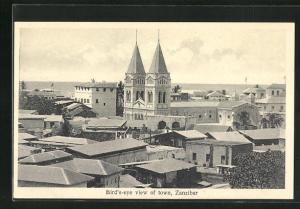 AK Zanzibar, Bird`s-eye view of town