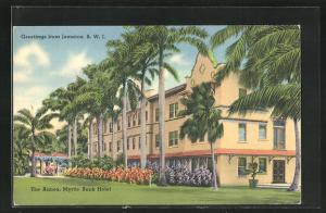AK Jamaica / B. W. I., The Annex, Myrtle Bank Hotel