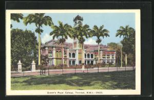 AK Trinidad / B. W. I., Queen`s Royal College