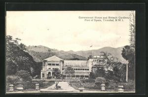 AK Port of Spain, Government House and Botanic Gardens