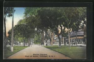 AK Port of Spain, Marine Square