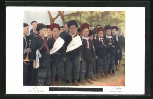 AK The Yao People, Knaben der Volksgruppe aus Nord-Siam