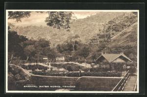 AK Maraval Water Works, Wasserwerk